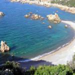 Cala Tinnari, Sardaigne, Italie. Auteur et Copyright Marco Ramerini