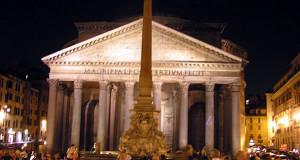 Pantheon, Rome, Italie. Auteur et Copyright Marco Ramerini