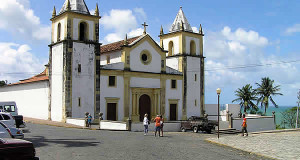 Catedrale da Sé, Olinda, Pernambuco, Brésil. Author and Copyright Marco Ramerini