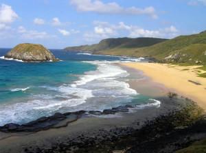 Praia do Leão, Fernando de Noronha, Brésil. Author and Copyright Marco Ramerini