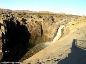 Chutes d'Augrabies, Afrique du Sud. Author and Copyright Marco Ramerini
