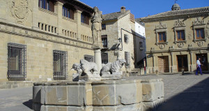 Fuente de los Leones, Baeza, Andalousie, Espagne. Author and Copyright Liliana Ramerini
