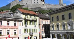 Bellinzona, Suisse. Auteur et Copyright Marco Ramerini..