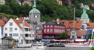 Bergen, Norvège. Auteur et Copyright Marco Ramerini