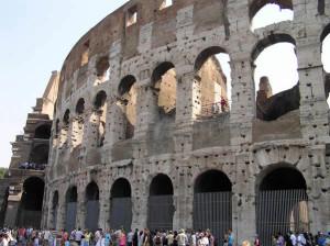 Colisée, Rome, Italie. Auteur et Copyright Marco Ramerini