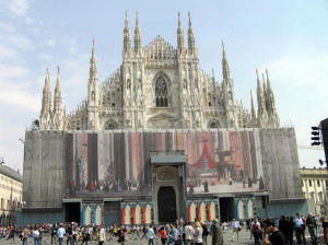 Duomo, Milan, Italie. Auteur et Copyright Marco Ramerini
