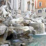 Fontaine de Trevi, Rome, Italie. Auteur et Copyright Marco Ramerini