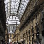 Galleria Vittorio Emanuele II, Milan, Italie. Auteur et Copyright Marco Ramerini