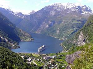 Geirangerfjord, Norvège. Auteur et Copyright Marco Ramerini