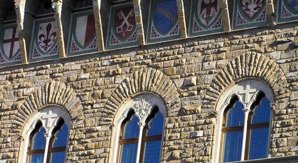 Palazzo Vecchio, Florence, Italie. Auteur et Copyright Marco Ramerini