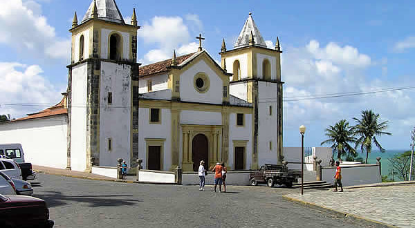 Catedrale da Sé, Olinda, Pernambuco, Brésil. Author and Copyright Marco Ramerini