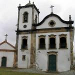 Église de Santa Rita, Paraty, Rio de Janeiro, Brésil. Author and copyright Marco Ramerini