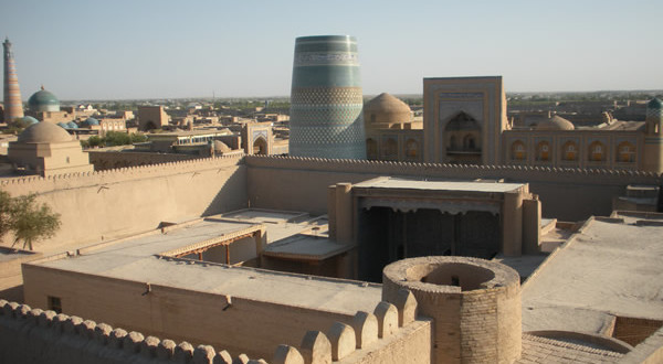 Khiva, Ouzbékistan. Author and Copyright Nello and Nadia Lubrina