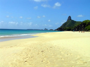 Praia Cacimba do Padre, Fernando de Noronha, Brésil. Author and Copyright Marco Ramerini