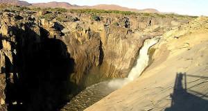 Chutes d'Augrabies, Afrique du Sud. Auteur Marco Ramerini