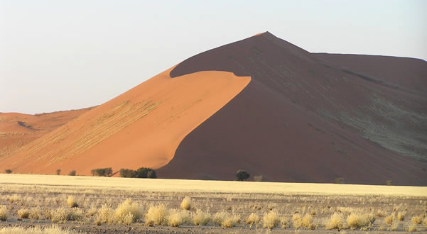 Désert du Namib, Namib-Naukluft, Namibie. Author and Copyright Marco Ramerini