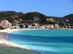Philipsburg, Great Bay, Saint-Martin/Sint Maarten. Author and Copyright Marco Ramerini
