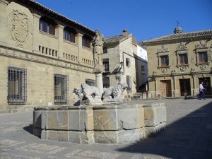 Fuente de los Leones, Baeza, Andalousie, Espagne. Author and Copyright Liliana Ramerini