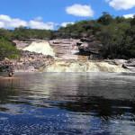 Cascada de Río Roncador, Marimbus Humedal, Chapada Diamantina, Bahía, Brésil. Author and Copyright Marco Ramerini