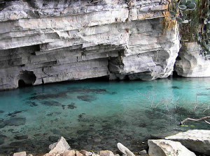Grotte de Pratinha, Chapada Diamantina, Bahía, Brésil. Author and Copyright Marco Ramerini