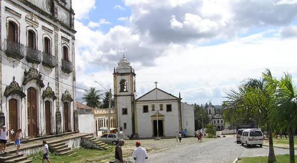 Église des São Cosme e Damião (1535), Igarassu, Pernambuco, Brésil. Author and Copyright Marco Ramerini