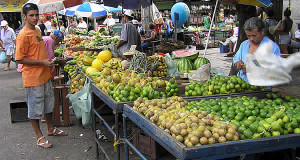 Marché, Recife, Pernambuco, Brésil. Author and Copyright Marco Ramerini