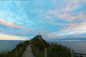 Le phare de Nugget Point, Catlins, Nouvelle-Zélande. Auteur et Copyright Marco Ramerini