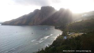 Le village de Yalobi, Waya, Yasawa, Fidji. Auteur et copyright Marco Ramerini