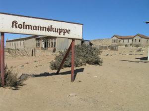 Kolmanskop, Namibie. Auteur et Copyright Marco Ramerini