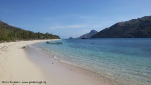 La plage, Kuata, îles Yasawa, Fidji. Auteur et Copyright Marco Ramerini.