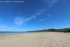 Kaka Point Beach, Catlins, Nouvelle-Zélande. Auteur et Copyright Marco Ramerini