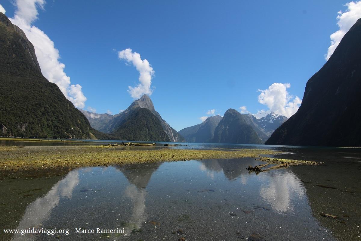 Milford Sound, Nouvelle-Zélande. Auteur et Copyright Marco Ramerini