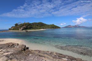 Narara vue à partir de Naukacuvu, îles Yasawa, Fidji. Auteur et Copyright Marco Ramerini