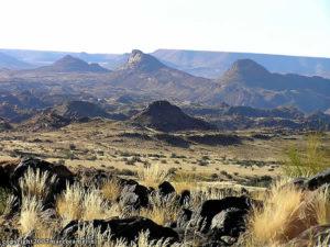 Paysage, Parc National d'Augrabies, Afrique du Sud. Auteur et Copyright Marco Ramerini.