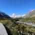 Passerelle, Hooker Valley Track, Mount Cook, Nouvelle-Zélande. Auteur et Copyright Marco Ramerini