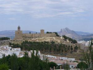Alcazaba, Antequera, Andalousie, Espagne. Auteur et Copyright Liliana Ramerini