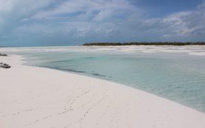 Bancs de sable, Sandy Cay, Exumas, Bahamas. Auteur et Copyright Marco Ramerini..