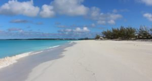 Cape Santa Maria Beach, Long Island, Bahamas. Auteur et copyright Marco Ramerini