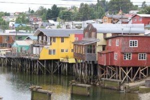 Palafittes Gamboa, Castro, Isla Chiloé, Chili. Auteur et Copyright Marco Ramerini