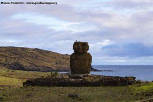 Ahu Ature Huke, Anakena, Île de Pâques, Chili. Auteur et Copyright Marco Ramerini
