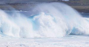 Océan pacifique, Île de Pâques, Chili. Auteur et Copyright Marco Ramerini