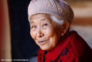 Femme, Shaxi, Yunnan, Chine. Auteur et Copyright Marco Ramerini