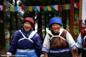 Femmes, Baisha, Yunnan, Chine. Auteur et Copyright Marco Ramerini