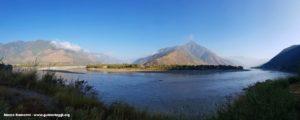 La boucle du Yangtsé (Fiume Azzurro), Shigu, Yunnan, Chine. Auteur et Copyright Marco Ramerini