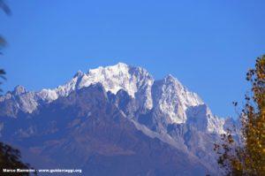 Mont enneigé du dragon de jade (Yulongxue Shan), Yunnan, Chine. Auteur et Copyright Marco Ramerini