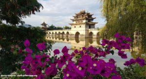 Pont des Dragons Jumeaux (Shuanglong Bridge), Jianshui, Yunnan, Chine. Auteur et Copyright Marco Ramerini