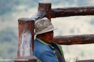 Homme, Bada, Yuanyang, Yunnan, Chine. Auteur et Copyright Marco Ramerini
