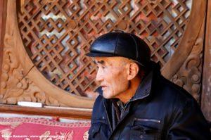 Homme, Shaxi, Yunnan, Chine. Auteur et Copyright Marco Ramerini