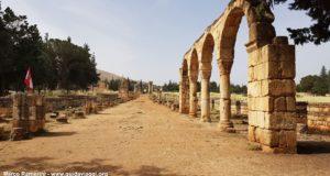 Anjar, vallée de la Beqa, Liban. Auteur et Copyright Marco Ramerini
