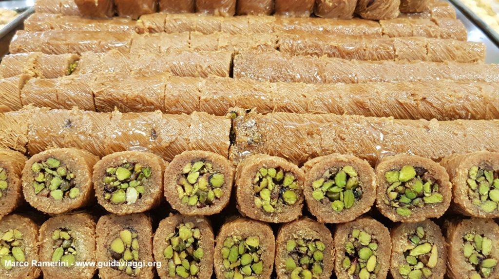 Desserts libanais typiques. Auteur et Copyright Marco Ramerini